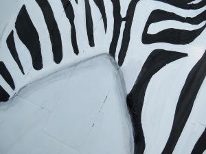 zebra rug close up shading 2